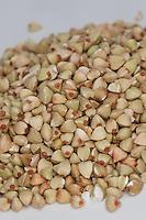 Echter Buchweizen, Gemeiner Buchweizen, Körner, Korn, Fagopyrum esculentum, Buckwheat