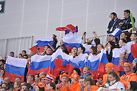 OLYMPICS: SOCHI: Adler Arena, 08-02-2014, 5000m Men, Russian fans, ©foto Martin de Jong