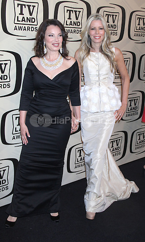 April 14, 2012 Fran Drescher; Aviva Drescher attends the 10th Anniversary of TV Land Awards  at the Lexington Avenue Armory in New York City..Credit:RWMediapunchinc.com