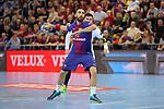 VELUX EHF 2017/18 EHF Men's Champions League Last 16.<br /> FC Barcelona Lassa vs Montpellier HB: 30-28.<br /> Valero Rivera.