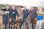 STEM ENGIN: Homemade Steam Engin by the Regans, Ballyheigue looking over thy steaqm engin on Sunday at Kilflynn Vintage Rally, Niall Murphy (Knocknagoshel, Alan Regan, Joe Brennan, Donal and John Regan........