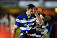 Paul Grant of Bath Rugby looks dejected after the match. Aviva Premiership match, between Bath Rugby and Exeter Chiefs on December 31, 2016 at the Recreation Ground in Bath, England. Photo by: Patrick Khachfe / Onside Images