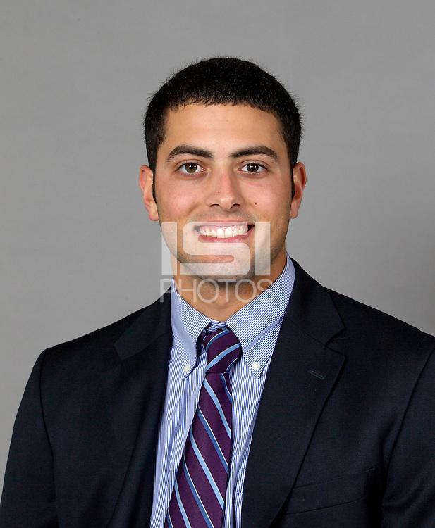 STANFORD, CA - January 7, 2014: Stanford Baseball athlete portrait.