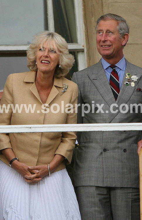 **ALL ROUND PICTURES FROM SOLARPIX.COM**.The Prince of Wales and the Duchess of Cornwall attended the annual Battle of Britain Fighter Association summer gathering.This pic: The Duchess of Cornwall & Prince Charles..JOB REF:  4104  NLA   DATE: 19.06.07.**MUST CREDIT SOLARPIX.COM OR DOUBLE FEE WILL BE CHARGED* *UNDER NO CIRCUMSTANCES IS THIS IMAGE TO BE REPRODUCED FOR ANY ONLINE EDITION WITHOUT PRIOR PERMISSION*