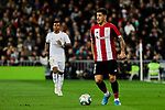 Yuri Berchiche of Athletic Club during La Liga match between Real Madrid and Athletic Club de Bilbao at Santiago Bernabeu Stadium in Madrid, Spain. December 22, 2019. (ALTERPHOTOS/A. Perez Meca)
