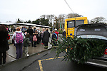 Traffic at Termonfeckin School...Photo NEWSFILE/Jenny Matthews.(Photo credit should read Jenny Matthews/NEWSFILE)....This Picture has been sent you under the condtions enclosed by:.Newsfile Ltd..The Studio,.Millmount Abbey,.Drogheda,.Co Meath..Ireland..Tel: +353(0)41-9871240.Fax: +353(0)41-9871260.GSM: +353(0)86-2500958.email: pictures@newsfile.ie.www.newsfile.ie.FTP: 193.120.102.198.