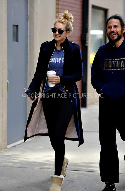 WWW.ACEPIXS.COM<br /> <br /> March 19 2015, New York City<br /> <br /> Model Gigi Hadid went to her gym in Chelsea on March 19 2015 in New York City<br /> <br /> By Line: Curtis Means/ACE Pictures<br /> <br /> <br /> ACE Pictures, Inc.<br /> tel: 646 769 0430<br /> Email: info@acepixs.com<br /> www.acepixs.com