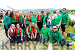 Some of the Cromane crews and supporters at the One Design Regatta held in Waterville on Sunday.