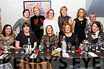 Enjoying a night out on Little Christmas in Camos Restaurant in Cahersiveen were front l-r; Angela Clifford,Anne Houlihan, Lorraine O'Neill, Tina O'Connor, Colette Doran, back l-r; Marie Garvey, Sinead O'Sullivan, Deirdre O'Connor, Fiona O'Connell, Rebecca O'Connor & Rhona Quirke.