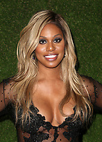 BEVERLY HILLS, CA - JANUARY 7: Laverne Cox, at 75th Annual Golden Globe Awards_Roaming at The Beverly Hilton Hotel in Beverly Hills, California on January 7, 2018. <br /> CAP/MPIFS<br /> &copy;MPIFS/Capital Pictures