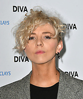 Lots Holloway at the DIVA Magazine Awards - Lesbian and bisexual magazine hosts annual awards ceremony at Waldorf Hilton, London, 8th June 2018, England, UK.<br /> CAP/JOR<br /> &copy;JOR/Capital Pictures