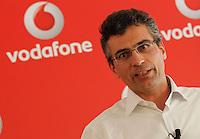 Vodafone presenta la nuova rete veloce la LTE ADVANCED che viaggera a 250Mbps Citta  test della rete sara  Napoli <br /> nella fotoFabrizio Rocchio direttore technology vodafone