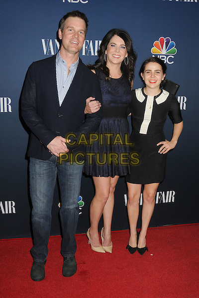 16 September 2014 - West Hollywood, California - Peter Krause, Lauren Graham, Mae Whitman. NBC and Vanity Fair 2014-2015 TV Season Event held at Hyde Sunset Kitchen.  <br /> CAP/ADM/BP<br /> &copy;Byron Purvis/AdMedia/Capital Pictures