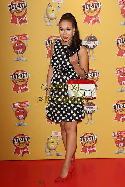 LONDON, ENGLAND - APRIL 14: Rebecca Ferguson attends the M&amp;M's Characters Election launch party at M&amp;M's World on April 14, 2015 in London, England.<br /> CAP/ROS<br /> &copy;Steve Ross/Capital Pictures
