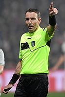 Referee Poalo Mazzoleni <br /> Reggio Emilia 10-2-2019 Stadio Mapei, Football Serie A 2018/2019 Sassuolo - Juventus<br /> Foto Andrea Staccioli / Insidefoto