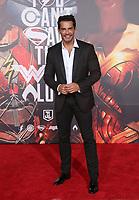 LOS ANGELES, CA - NOVEMBER 13: Cristian de la Fuente, at the Justice League film Premiere on November 13, 2017 at the Dolby Theatre in Los Angeles, California. <br /> CAP/MPI/FS<br /> &copy;FS/MPI/Capital Pictures