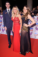 Carol Vorderman with, son, Cameron and daughter, Katie<br /> at the Pride of Britain Awards 2017 held at the Grosvenor House Hotel, London<br /> <br /> <br /> &copy;Ash Knotek  D3342  30/10/2017
