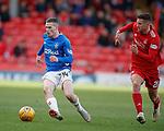 03.03.2019 Aberdeen v Rangers: Ryan Kent and Dom Ball