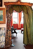 vintage luxury doorway curtains