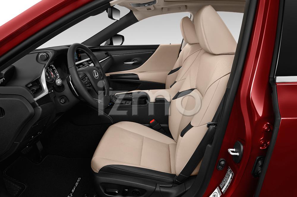 Front seat view of a 2019 Lexus ES 350 4 Door Sedan front seat car photos