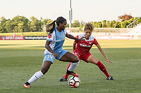 Boyds, MD - Saturday June 03, 2017:  Nichelle Prince, Estelle Johnson during a regular season National Women's Soccer League (NWSL) match between the Washington Spirit and the Houston Dash at Maureen Hendricks Field, Maryland SoccerPlex