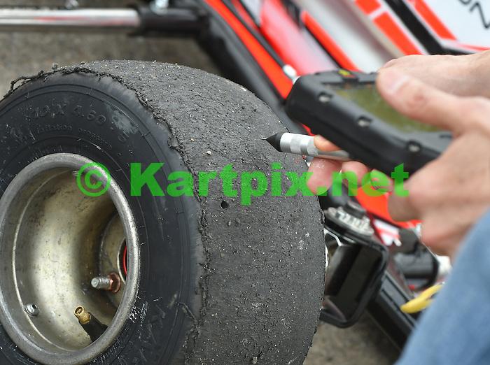 Tyre Pressure and Temperature Gauge