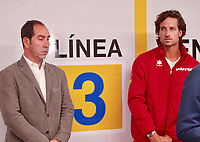 They are a total of 18 stations for the 18 teams that will compete in the final of the tennis tournament. The Davis Cup finals will be held for the first time in Madrid, between November 18 and 24 at the Caja Magica.<br /> Albert Costa and Feliciano lopez