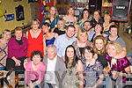 Eleanor Hennessy Tralee seated centre celebrates her 30th birthday in O'Connors bar Castleisland on Friday night with her friends and family