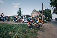 race leaders cutting corners<br /> <br /> 92nd Schaal Sels 2017 <br /> 1 Day Race: Merksem > Merksem (188km)