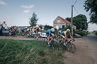 race leaders cutting corners<br /> <br /> 92nd Schaal Sels 2017 <br /> 1 Day Race: Merksem &gt; Merksem (188km)