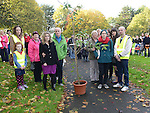 Family and friends of Jill Meagher pictured in Dominic's park with a tree to be planted in her memory. Photo:Colin Bell/pressphotos.ie