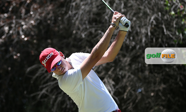 Ruan De Smidt (RSA) drives the 13th during Round Two of the Tshwane Open 2015 at the Pretoria Country Club, Waterkloof, Pretoria, South Africa. Picture:  David Lloyd / www.golffile.ie. 13/03/2015