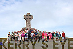 A large number took part in the climb and mass at the top of Cnoc na dTobar on Sunday, Canon Larry Kelly celebrated mass at the top.  This trail has now been included in the Irish Pilgrim Paths, its one of twelve in the country and the second in Kerry - the other being Cosán na Naomh in Dingle.