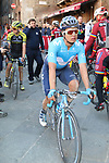 Carlos Betancur (COL) Movistar Team after finishing in Siena Strade Bianche 2019 running 184km from Siena to Siena, held over the white gravel roads of Tuscany, Italy. 9th March 2019.<br /> Picture: Seamus Yore | Cyclefile<br /> <br /> <br /> All photos usage must carry mandatory copyright credit (© Cyclefile | Seamus Yore)