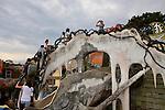 The Crazy House. Dalat, Vietnam. April 17, 2016.