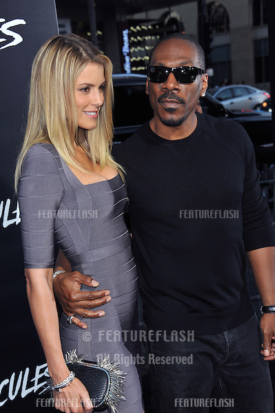 Eddie Murphy &amp; girlfriend Paige Butcher at the premiere of &quot;Hercules&quot; at the TCL Chinese Theatre, Hollywood.<br /> July 23, 2014  Los Angeles, CA<br /> Picture: Paul Smith / Featureflash