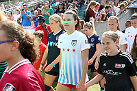 Cary, North Carolina  - Sunday May 21, 2017: Arin Gilliland prior to a regular season National Women's Soccer League (NWSL) match between the North Carolina Courage and the Chicago Red Stars at Sahlen's Stadium at WakeMed Soccer Park. Chicago won the game 3-1.