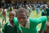 Boys at Wamba Primary School