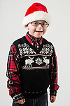 WATERBURY, CT- 10 December 2015-121015EC17-  Christmas Kids North. Brody Piper, 6, is from Terryville. He wants music for Christmas. Erin Covey Republican-American