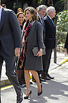 Queen Letizia of Spain attends Miguel de Cervantes exhibition at National Library in Madrid, Spain. March 04, 2016. (ALTERPHOTOS/Pool)