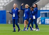 Reims, FRA - June 10, 2019: The USWNT completes a walk through before their first group stage match at the FIFA Women's World Cup.