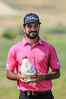 Francesco Laporta (ITA), leading Italian Professional after the final round of the Rocco Forte Sicilian Open played at Verdura Resort, Agrigento, Sicily, Italy 13/05/2018.<br /> Picture: Golffile | Phil Inglis<br /> <br /> <br /> All photo usage must carry mandatory copyright credit (&copy; Golffile | Phil Inglis)