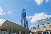 New skyrise development, Shanghai, China