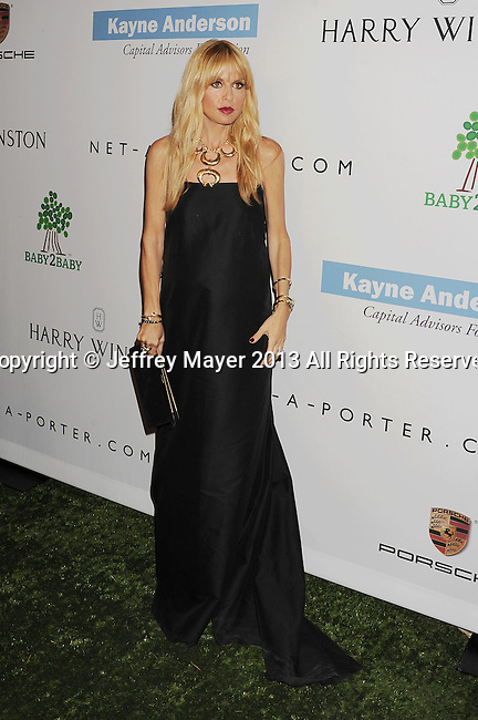 CULVER CITY, CA- NOVEMBER 09: Fashion designer Rachel Zoe arrives at the 2nd Annual Baby2Baby Gala at The Book Bindery on November 9, 2013 in Culver City, California.