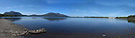 A panorama view of Lough Lein with Torc Mountain on left and The Lake Hotel on right, taken in Killarney during the summer of 2010..Picture by Don MacMonagle