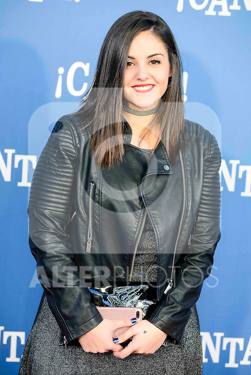 "Andrea Compton attends to the premiere of the film ""¡Canta!"" at Cines Capitol in Madrid, Spain. December 18, 2016. (ALTERPHOTOS/BorjaB.Hojas)"