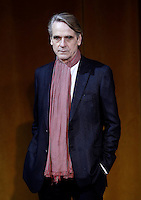 L'attore inglese Jeremy Irons posa durante un photocall per la presentazione del film 'La corrispondenza' a Roma, 11 gennaio 2016.<br /> British actor Jeremy Irons poses during a photocall for the presentation of the movie 'La corrispondenza'<br /> ('Correspondence') in Rome, 11 January 2016.<br /> UPDATE IMAGES PRESS/Isabella Bonotto