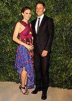 NEW YORK CITY, NY, USA - NOVEMBER 03: Alexi Ashe, Seth Meyers arrive at the 11th Annual CFDA/Vogue Fashion Fund Awards held at Spring Studios on November 3, 2014 in New York City, New York, United States. (Photo by Celebrity Monitor)
