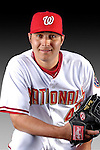 25 February 2007: Washington Nationals pitcher Matt Chico poses for his Photo Day portrait at Space Coast Stadium in Viera, Florida.<br /> <br /> Mandatory Photo Credit: Ed Wolfstein Photo<br /> <br /> Note: This image is available in a RAW (NEF) File Format - contact Photographer.