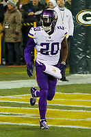 Minnesota Vikings cornerback Mackensie Alexander (20) during a National Football League game against the Green Bay Packers on December 23rd, 2017 at Lambeau Field in Green Bay, Wisconsin. Minnesota defeated Green Bay 16-0. (Brad Krause/Krause Sports Photography)